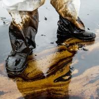 lubricant spills