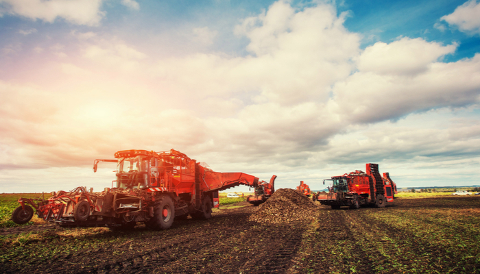 Can agricultural machinery benefit from an ALS?